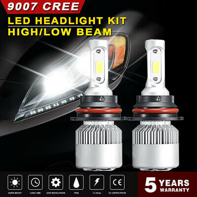 9007 HB5 LED Headlight Bulb Hi-Lo Beam Conversion Kit For Dodge Grand Caravan CP