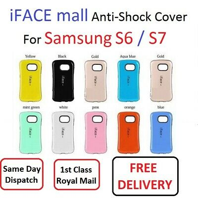 Samsung Galaxy S6 / S7 iFace Mall Anti-shock Cover Hard Tough Case