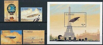 [H16703] St Vincent Gren.1999 Good lot set of stamps + sheet very fine MNH