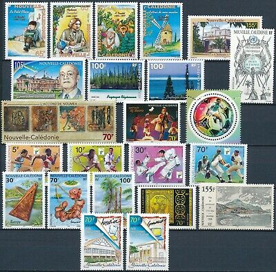 [H16723] Nouvelle Caledonie 1997 to 1999 Good lot of stamps very fine MNH
