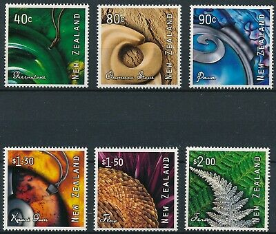 [H17047] New Zealand 2001 ART Good set of stamps very fine MNH