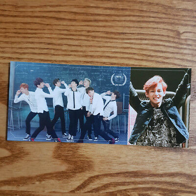 V Taehyung Official Photocard BTS 2nd Mini Album Skool Luv Affair Kpop Genuine
