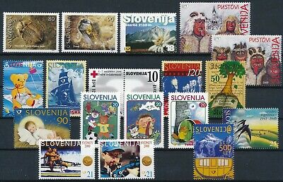 [H17062] Slovenia After 2000 Good lot of stamps very fine MNH