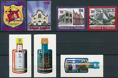 [H17067] Trinidad & Tobago Good lot of 3 sets of stamps very fine MNH