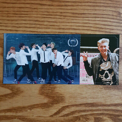 RM Official Photocard BTS 2nd Mini Album Skool Luv Affair Genuine Rap Monster