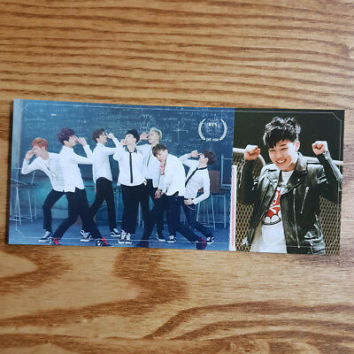 Jimin Official Photocard BTS 2nd Mini Album Skool Luv Affair Kpop Genuine