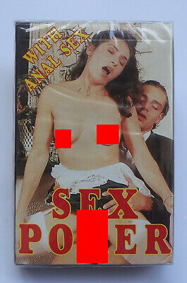 1997  Sex Nude Vintage Playing Cards with box # Anal Sex