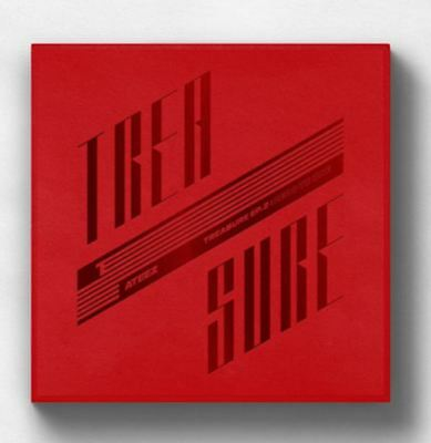 "K-POP ATEEZ Album TREASURE EP.2 ""Zero To One"" [ 1 Photobook + 1 CD ] Free Ship"
