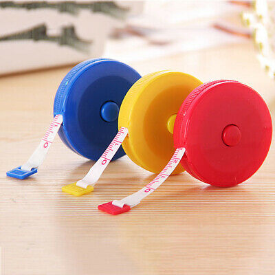 """1PC Body Measuring Ruler Sewing Cloth Tailor Tape Measure Soft Flat 60""""/ 150cm"""