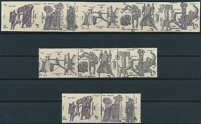 [HG25652] Iraq 2000 ARTS Good lot PERF + IMPERF sets of stamps very fine MNH