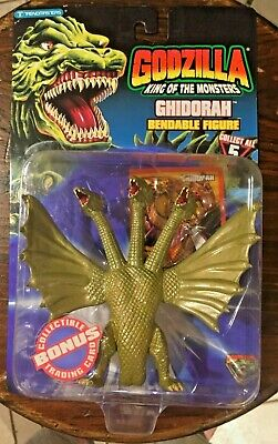Godzilla King of the Monsters Ghidorah Bendable figure