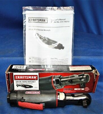 "Craftsman 3/8"" Pneumatic Mini Ratchet 875.199310"