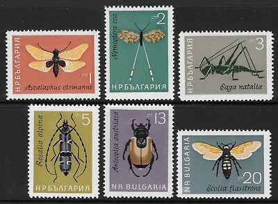 Bulgaria 1964 Insects SG1440/5 Mtd.Mint