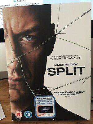 SPLIT DVD with James McAvoy