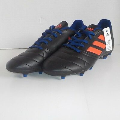 08e560c4c ADIDAS ACE 17.4 FG Soccer Cleats BLACK SOLAR RED S77070 Women Size 8 ...