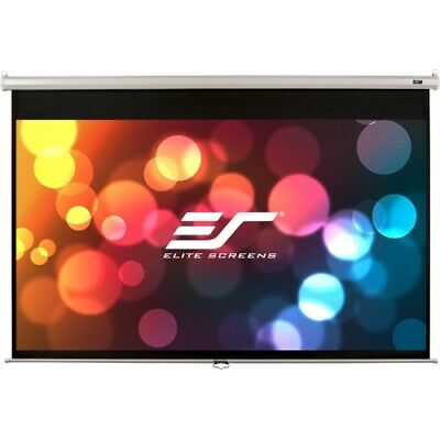NEW Elitescreens M71XWS1 Manual Projection Screen 71in Pull Down Projector