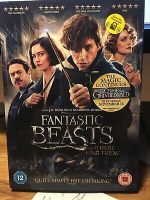 Fantastic Beasts and Where to Find Them DVD New & Sealed Region 2 UK