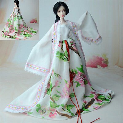 Doll Traditional Chinese Dynasty Princess Dress For  Doll Clothes LK