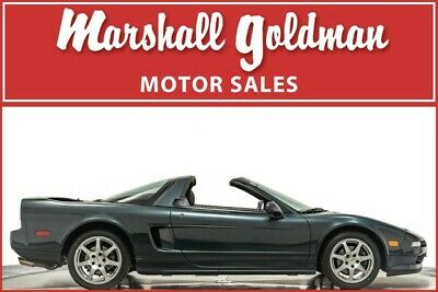 1995 Acura NSX  1995 Acura NSX-T Brooklands Green Pearl/Black leather interior 16,300 miles