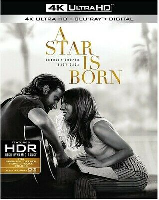 A Star Is Born [New 4K Ultra HD] With Blu-Ray, 4K Mastering