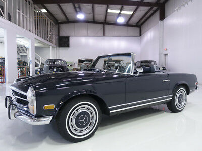 1969 Mercedes-Benz SL-Class 280SL Roadster | 59,674 actual miles 1969 Mercedes-Benz 280SL Roadster | Factory hardtop & soft top | Collector owned