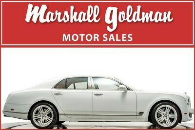 2012 Bentley Mulsanne  2012 Bentley Mulsanne in Arctica with Linen leather only 11,000 miles