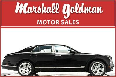 2012 Bentley Mulsanne  2012 Bentley Mulsanne Beluga with Newmarket Tan leather only 4,400 miles