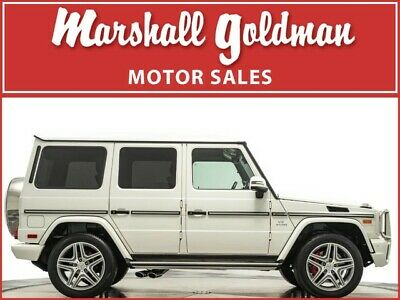 2017 Mercedes-Benz G-Class  2017 Mercedes-Benz G63 AMG in designo Mystic White  only 9,600 miles