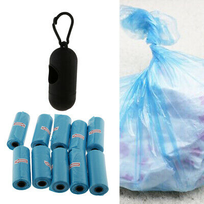 Baby Diapers Disposable Garbage Bags Plastic Portable Case with 10 Waste Bag