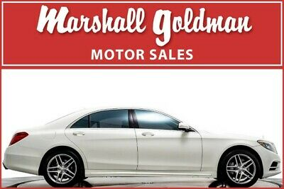 2014 Mercedes-Benz S-Class  2014 Mercedes-Benz S550 in designo Diamond White  only 30,400 miles