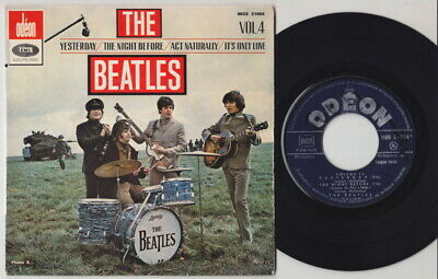 The BEATLES * Volume 4 * 1965 French Export E.P. * ODEON MOE 21004 *