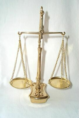 G32: Triple-Beam Balance, Double Scale, Gold Level Scale Polished Brass + Weight