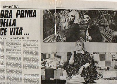 MA129-Clipping-Ritaglio 1976 Laura Betti