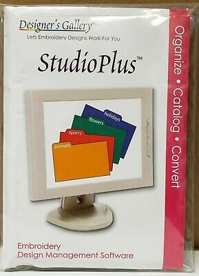 Designers Gallery Studio Plusembroidery Software
