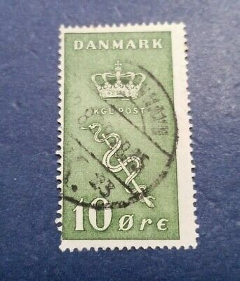 Denmark Stamp, Scott B3 Used and Hinged
