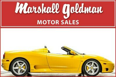 2004 Ferrari 360  2004 Ferrari 360 Spider Giallo Modena Nero leather Daytonas 13,600 miles
