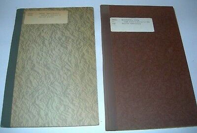 2 Vintage English Anthology & English Poetry Books Ex. Lib. UC Riverside 1920's