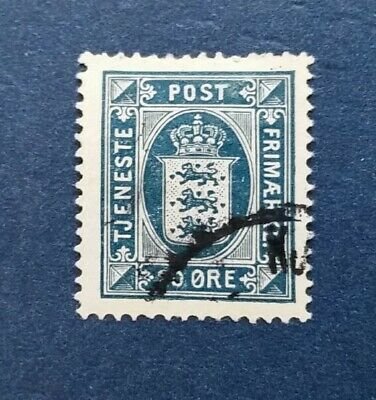 Denmark Stamp, Scott O24 Used and Hinged