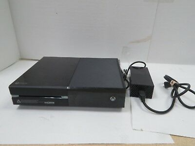 Microsoft Xbox One Launch Edition 500GB Black Console with Power Adapter
