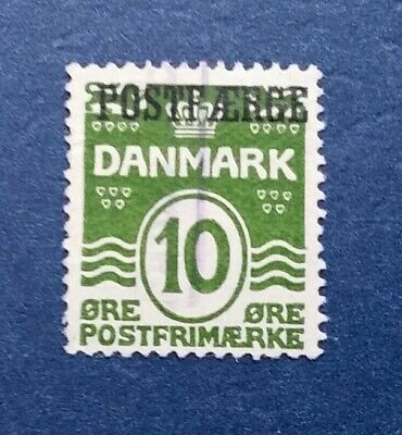 Denmark Stamp, Scott Q1 Used and Hinged