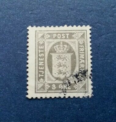 Denmark Stamp, Scott O17 Used and Hinged