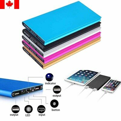 Ultra Thin External Portable Power Bank/Battery Charger for Cell Phones 20000mAh