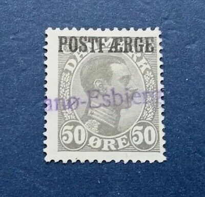 Denmark Stamp, Scott Q8 Used and Hinged