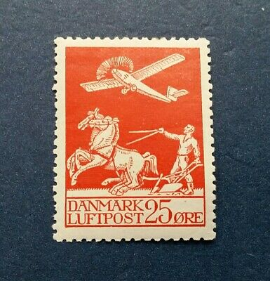 Denmark Stamp, Scott C3 Mint and Hinged