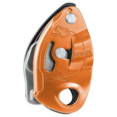 Petzl Grigri Belay Device Red/Orange