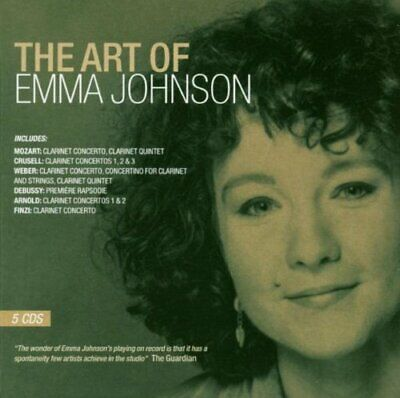 Emma Johnson - The Art of Emma Johnson - Emma Johnson CD GEVG The Cheap Fast The