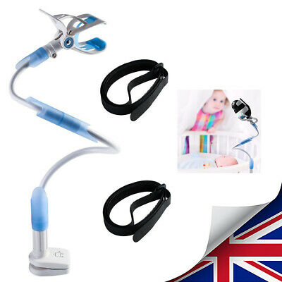 Universal Baby Monitor Holder Camera Mount Safety Baby Shower Gift 85cm Blue UK