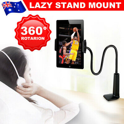 Flexible 360°Rotating Tablet Stand Lazy Bed Desk Holder for iPad iPhone Samsung
