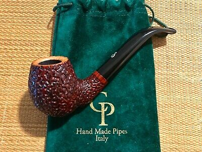 New! Cp Silverhook Pipe, Full Bent Pipe, Hand Made In Italy!