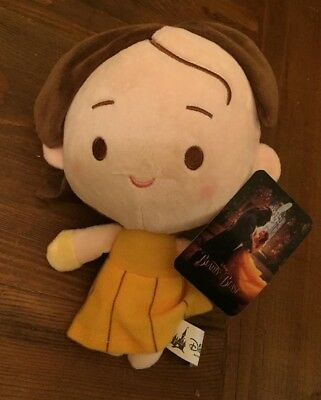 Rare Disney Parks Beauty and the Beast Belle Emma Watson Soft Toy Plush Hanging